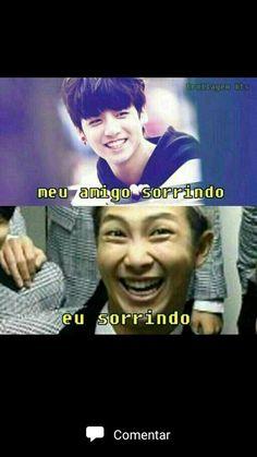 Bem assim Bts Memes, Bts Meme Faces, Funny Memes, K Pop, Namjoon, Frases Bts, Bts Show, Bts Face, Bts Imagine