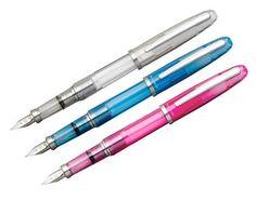 Platinum Cool Balance Demonstrator Fountain Pen at FahrneysPens.com