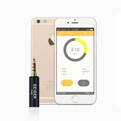 "Smart Geiger Counter Nuclear Radiation Dosimeter ""X-Ray"" and ""Gamma"" Detector Smartphone Android iOS with App Geiger Counter, Mein Hobby, Emergency Preparation, Android 4, Ios, Smartphone, The Unit, Technology, App Store"