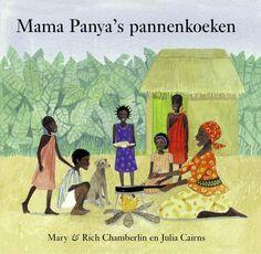 Vanavond gaat Mama Panya pannenkoeken bakken. En Adika mag mee naar de markt om boodschappen te doen.