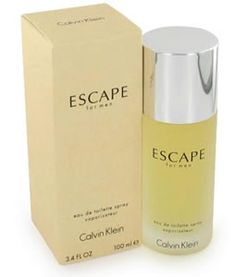Calvin Klein Escape Men Edt 3.4 oz $ 65.00 Free sh in USA