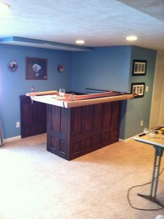 Beautiful Basement Bar On A Budget
