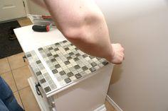 DIY Tiled Table Top Tutorial