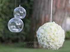Addobbi floreali al matrimonio nell'incantato giardino dell'amore