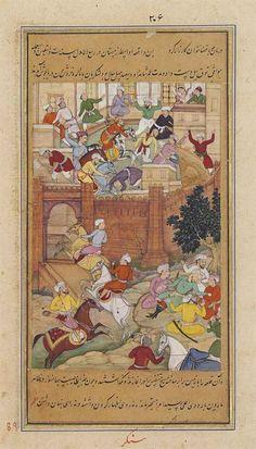 The death of Umar Shaikh, the son of Timur