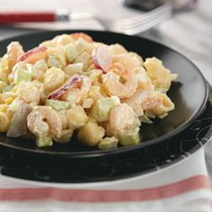 Shrimp Salad - I'd lighten it up a bit with half lowfat mayo and half Greek yogurt - dash of Splenda - but looks oh so good