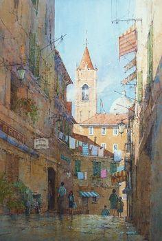 Ian Ramsay, 1948 | Plein Air /Watercolour painter | Tutt'Art@ | Pittura…