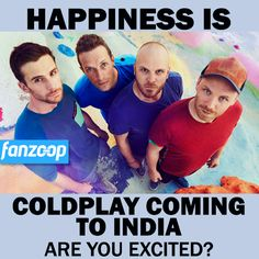 ts #Confirmed ! They are coming to Mumbai in September !  #SaveTheDate #Coldplay #Fanzoop