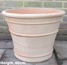 Frost Garden Pots Large terracotta pots and planters that are frost resistant and cretan terracotta pot height 40cm monahou workwithnaturefo