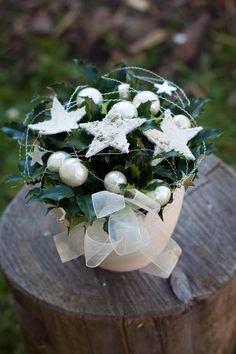 vánoční květinové aranžmá - Hledat Googlem