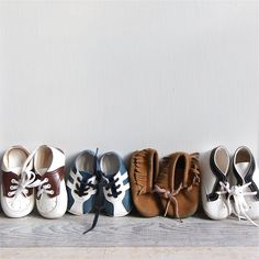 Vintage Baby Shoes - Sneakers, Moccassins