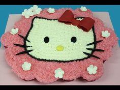Tarta de cupcakes de Hello Kitty