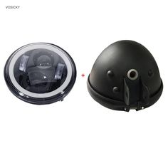 33.00$  Buy now - http://alit88.shopchina.info/go.php?t=32795017663 - VOSICKY 5.75 inch headlight housing bucket with 5.75 inch Led headlight with White halo angel eye for Harley  Sportsters 33.00$ #magazineonline