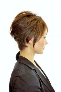 Love this hair cut! Anyone daring to go short??
