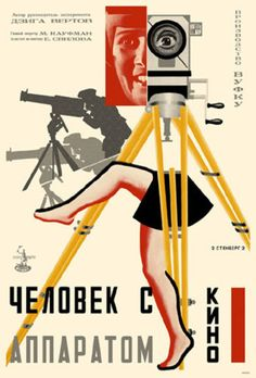 Man with a Movie Camera- one of my favorite films