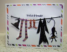 Cheery Lynn Designs Witches clothesline