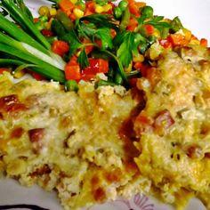 Csirkemell sajtos-baconös-újhagymás tejföllel sütve Recept képpel - Mindmegette.hu - Receptek