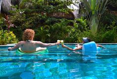 Grab your best travel partner and book a long, relaxing stay at Cayena Beach Villa today.