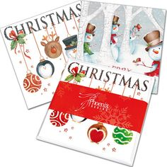 Mixed Card Packs makes choosing cards for easy! Our Children's Pack (XP32) features 8 cards (4 each of each design) with white envelopes. To top it off, it comes beautiful presented with a red belly band.