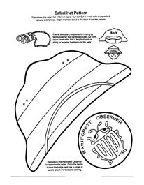 safari hat pattern