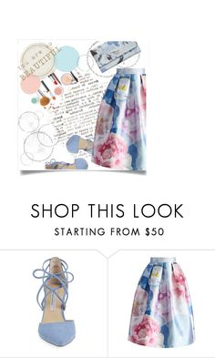 """Untitled #30"" by shamsiya57 ❤ liked on Polyvore featuring Kristin Cavallari, Chicwish and GUESS"
