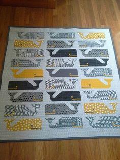 Elizabeth hartman preppy the whale quilt