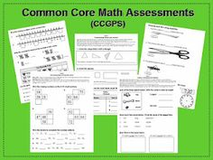 Great 1st Grade Common Core Math Assessments