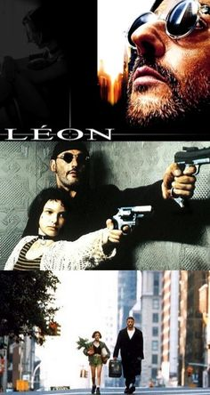 Léon / You give me a taste for vibe... I wanna be happy,sleep in the bed, have roots... You'll never be alone again, Mathilda
