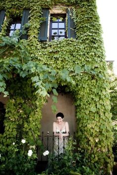 i want ivy on my house... i think its gorgeous
