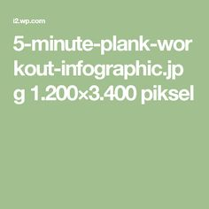 5-minute-plank-workout-infographic.jpg 1.200×3.400 piksel