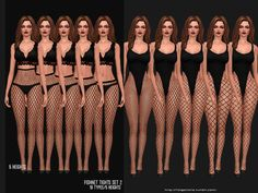 Fishnet tights set 2 for The Sims 4 Fishnet tights set 2 for The Sims I M S Fishnet tights set 2 for The Sims 4 Related posts:Mode - School Jahre Make-Up. Sims 4 Mm Cc, Sims Four, Sims 4 Mods Clothes, Sims 4 Clothing, Silvester Outfit, Pelo Sims, The Sims 4 Packs, Mode Glamour, Sims 4 Collections