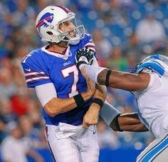 Buffalo Bills quarterback Matt Leinart
