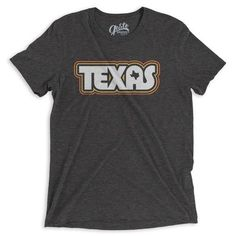 Retro Texas Tee by Gusto Graphic Tees
