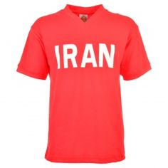 Iran 1978 World Cup Retro Football Shirt Iran 1978 World Cup Retro Football Shirt. This classic shirt was worn in the 1978 World Cup as the Iranians made their World Cup bow in 1978 tournament held in Argentina earning a suprise 1-1 draw wit http://www.MightGet.com/may-2017-1/iran-1978-world-cup-retro-football-shirt.asp