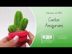 cactus Crochet Cactus, Crochet Food, Easy Crochet, Crochet Flowers, Free Crochet, Knit Crochet, Amigurumi Doll, Amigurumi Patterns, Crochet Patterns