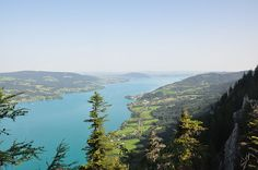 #Hiking - Schoberstand  Finally! What a wonderful view over lake Attersee, Mondsee and more...in Austria