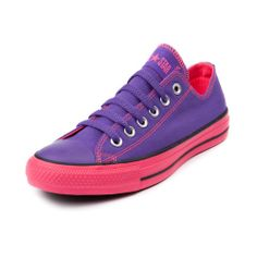 Converse All Star Lo Athletic Shoe, Purple Pink Journeys Shoes from Journeys. Shop more products from Journeys on Wanelo. Cute Converse, Converse All Star, Converse Shoes, Converse Low, Sock Shoes, Shoe Boots, Nylons, Disney Shoes, Purple Shoes