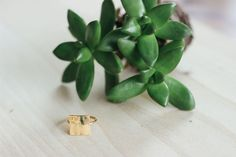 The FashionABLE custom phrase ring makes an affordable gift + supports an amazing cause