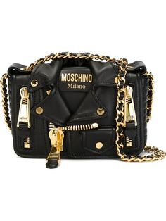 Shop Moschino biker crossbody bag in Elite from the world's best independent boutiques at farfetch.com. Shop 300 boutiques at one address.