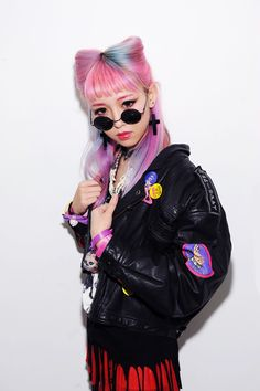 Pastel haired punk