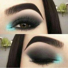 121 gorgeous eye makeup looks for green eyes – Maquillage des Yeux Makeup Looks For Green Eyes, Makeup Eye Looks, Smokey Eye Makeup, Cute Makeup, Skin Makeup, Eyeshadow Makeup, Winged Eyeliner, Smoky Eye, Gorgeous Makeup