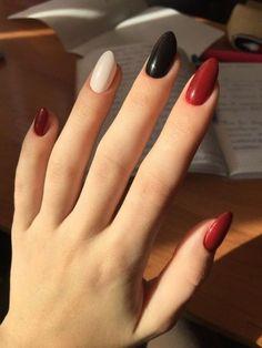 Glamorous Acrylic Nail Art Designs in Summer 2019 Nail Art Designs, Gel Polish Designs, Nails Design, Design Art, Design Ideas, Nail Art Blanc, Nagel Stamping, Red Acrylic Nails, Acrylic Art