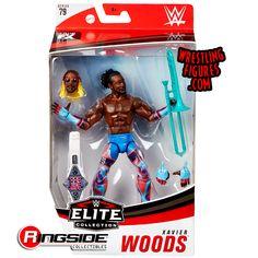 Predator Action Figures, Wwe Action Figures, Figuras Wwe, Xavier Woods, Wwe Toys, Wwe Elite, Wwe Superstars, Big Dogs, Really Funny
