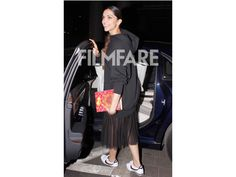 <div><span><br /></span></div> <div><span>Kajol and Tanuja spent some quality mother-daughter time together over lunch. The duo was snapped by the paparazzi while coming out of a restaurant in Mumbai. While Kajol looked pretty in a red jumpsuit, Tanuja was seen in a printed white shirt and denims. Cute moment, right?</span></div>