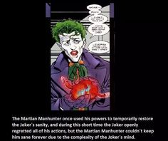 A sane Joker? That's scary - Visit to grab an amazing super hero shirt now on sale!
