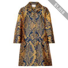 Mary Katrantzou Spence oversized jacquard coat