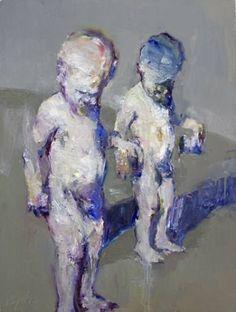 "Saatchi Art Artist Danny McCaw; Painting, ""TWINS"" #art"