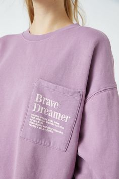 Malva, Pull & Bear, The Dreamers, Brave, Wild Flowers, Pullover, Sweatshirts, Long Sleeve, Fabric