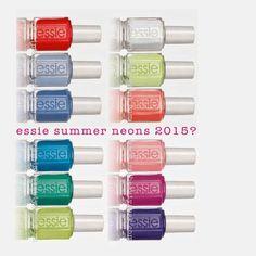 Nail must haves! Essie Nail Polish Colors, Nail Polish Trends, Nail Polish Sets, Nail Colors, Colours, Colorful Nail Designs, Cool Nail Designs, Hair And Nails, My Nails