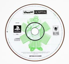 Sony Playstation 1 Theme Hospital für Ps1